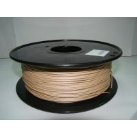Cheap 1.75mm / 3.0mm 3D Light Wood Filament For 3D Rapid Prototyping for sale