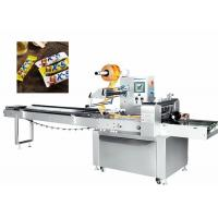 Best 380V 50HZ Candy Packaging Machine , Candy Pillow Pack Machine Manual Operation wholesale