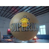 Best Customized Fireproof 3m diameter PVC Material inflatable advertising helium balloon wholesale