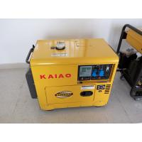 China 5000W Small Diesel Backup Generator Residential With Digital Panel Board on sale