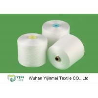 Best Z Twisted 100% Polyester Spun Yarn Raw White Staple Yarn 20/2 For Sewing Thread wholesale