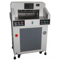 Best Hydraulic Programmable Paper Cutting Machine 490mm With Digital Display wholesale