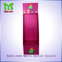 Best Customized Promotion Socks peg hook display rack Cardboard Hook Display wholesale