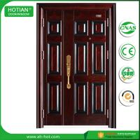 Best Indian House Gate Designs Steel Door Front Security Doors Single and Half Metal Skin Door wholesale