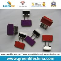 Best Colorful Rectangle Plastic Handle Binder Clips Ready for Company Logo wholesale