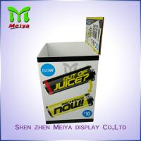 Cheap Recycling cardboard dump bin display for power bank , Easy to assemble for sale