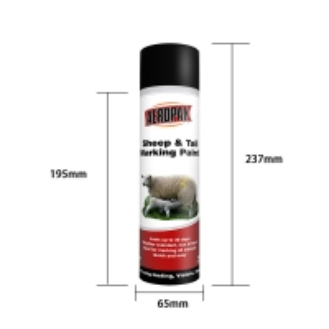 Best Acrylic 500ml Aerosol Animal Marking Paint Spray ISO9001 wholesale