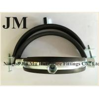 Quality Customized Thickness Standard Rubber Pipe Clamp OEM / Neutral Packing wholesale
