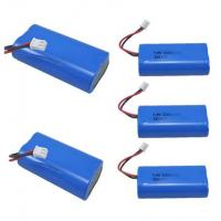 Best 7.4V 2600mAh Mobile Warming Battery For Heated Jackets / Vests , 1C Discharge Rate wholesale