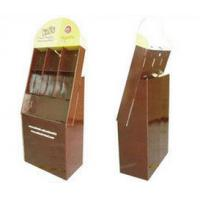 China Advertising Cardboard Display Stands For Keyboard , Retail Stores Cardboard Display Units on sale