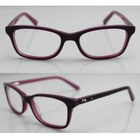 China Hand Made Acetate Kids Eyeglasses Frames to Children Protect Eyes on sale