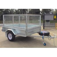 7x4 Hot Dipped Galvanized Cage Trailer