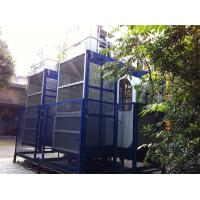 Quality 2000kgs Operator Cab Construction Material Hoists Dual Cage SC200 / 200 wholesale