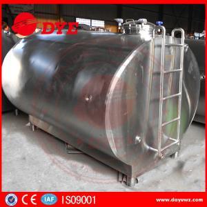 Best Stainless Steel Milk Storage Tank Insulated Tank For Milk Transportation wholesale