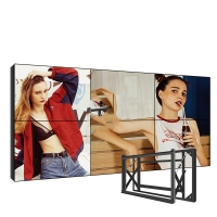 Best Wall Mounted 60000h LCD Video Wall Display Bezel 1.7mm 700 Cd/M2 wholesale
