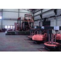 Upward continuous casting machine for OXF copper rod production