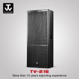 China Dual 15inch DJ Bass subwoofer Karaoke Powered Speaker Box Sound System TX-215 on sale