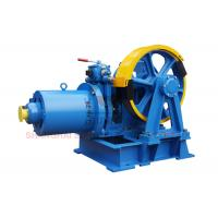 Best VVVF Lift Traction Machine Traction Elevator Components , Right Sheave Position wholesale