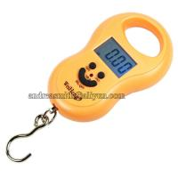 Best ABS Plastic Hanging Gram Scale , Units Conversion Handheld Luggage Scale wholesale