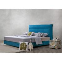 Best Fabric Upholstered Headboard Bed SOHO Apartment Bedroom interior fitout Leisure Furniture wholesale