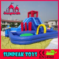 Inflatable Water Slides For Sale: Details Of WL-1827 Commercial Inflatable Slide, Giant