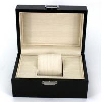Best Rectangle Highend Jewelry Wooden Box With Silk Screen Printing Logo wholesale