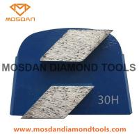 Best Magnetic Fast Change Trapezoid Double Rhombus Grinding Plate for Lavina wholesale