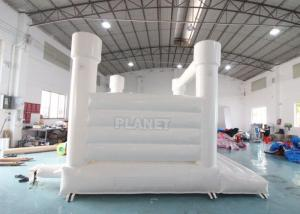 Best Outdoor Jumping Bouncer Inflatable Wedding Bouncy Castle White Bounce House For Adults And Kids wholesale