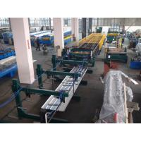 Quality Thin Type Roof Panel Roll Forming Machine , Corrugated Sheet Making Machine Normal Speed wholesale