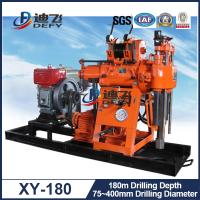 Best Widely Used Water Well Drilling Machine for Sale XY-180, 180m Depth Drill Rig wholesale