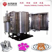 Cheap Automotive LOGOs Chroming Pvd Chrome Vacuum Metalizing Machine for sale