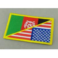 Buy cheap Customized Promotional US Uniform Badge Patch 3.25 Inch Eco - Friendly from wholesalers