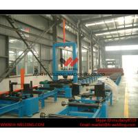 Best Automatic H Beam Assembly Machine With Two Sets Of Co2 Tack Welding 2000mm Web Height wholesale