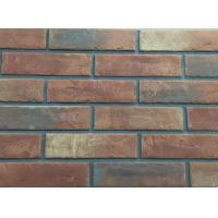 Best 3D206 Acid Resistance Turned Color Interior Brick Wall Clay Material wholesale