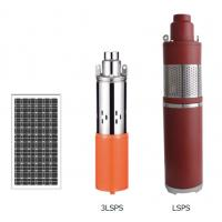 China LSPS Series Solar Water Pumping System , DC Brush Solar Powered Deep Well Pump on sale