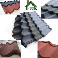 Best Customized Color Stone Coated Metal Roofing Sheets thickness 0.38-0.50mm wholesale