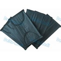Best Black 4- Ply Ear Loop Disposable Non Woven Face Mask With Active Carbon wholesale