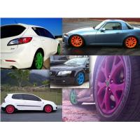 Best High Gloss Auto Spray Paint / Red Rubber Car Paint Spray CanImpact Resistance wholesale