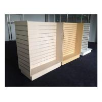 Best Customized Slatwall Display Units , Store Display Shelving For Sport Clothing Shop wholesale