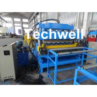 Best Steel Double Layer Roof Roll Forming Machine / Roofing Sheet Roll Forming Machine wholesale