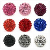 Best Colorful Rhinestone Shamballa Crystal Pave Beads,Crystal Beads Jewelry 6-16mm wholesale