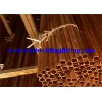 Quality Round Seamless Copper Tube With ASTM B42 For Air Conditioning wholesale