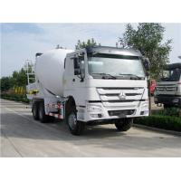 CCC Concrete Construction Equipment Sinotruk Howo 6x4 Howo Mixer Truck 10m³ With HW76 Cab