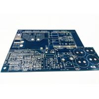 Best Blue Soldermask Electronics Circuit Board , Flex PCB Prototype With Immersion Gold wholesale