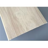 Best 30cm High Glossy Pvc Wood Panels Fire Resistance For Hospital / Living Room wholesale