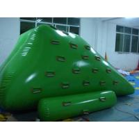 Quality 0.9 mm PVC Tarpaulin Inflatable Iceberg Floating Water Park With Digital Printing wholesale