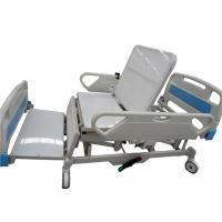 Best All Electric Hospital Bed Four Sections PE Bed Board Providing Sitting Position wholesale