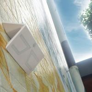 Best ABS Material IP65 Olar Exterior Wall Lights 6000K LED Motion Sensor 3000mAh Battery wholesale