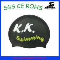 Best Promotional silicone swimming cap/ high quality soft silicon swim cap wholesale