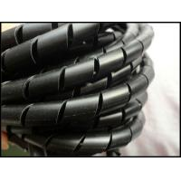Cheap Anti - corrosion PE abrasive Wire insulation spiral band spiral wire wrapping for sale